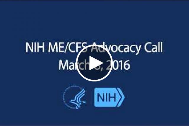 mecfs advocacy 03102016
