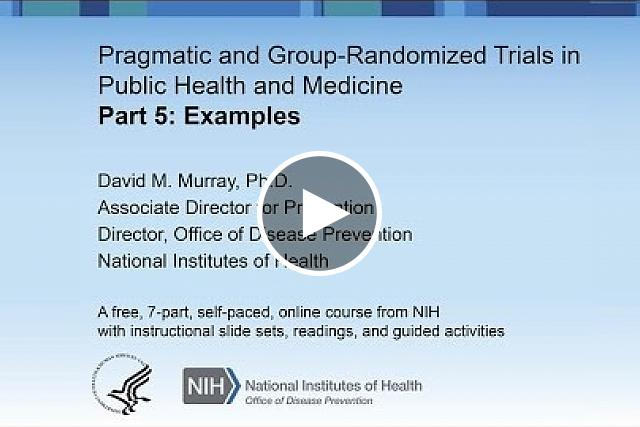 Power and sample size for group-randomized trials, with a focus on Cornfield's two penalties of extra variation and limited degrees of freedom, strategies to reduce extra variation and increase df, the seven steps involved in any power analysis, estimating the ICC, an example of a sample size calculation for a simple group-randomized trial, and adaptations required for unbalanced designs.