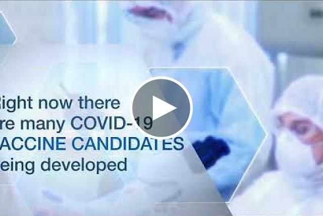 Through the ACTIV program, NIH is working with many partners to develop safe and effective vaccines for COVID-19. Learn how candidate vaccines are tested through the different phases of clinical trials.