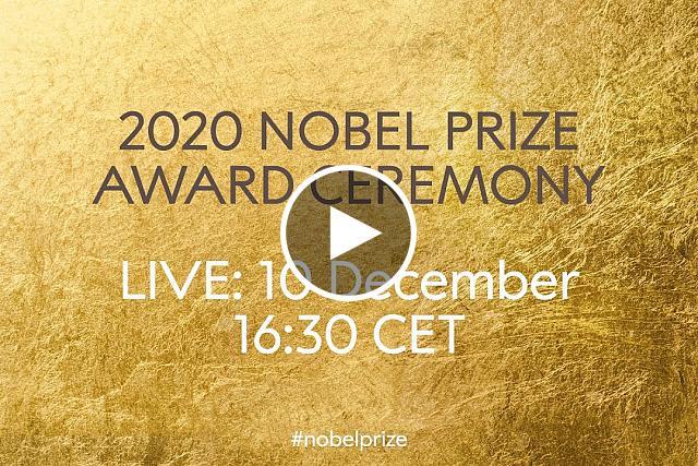 2020 Nobel Prize Award Ceremony