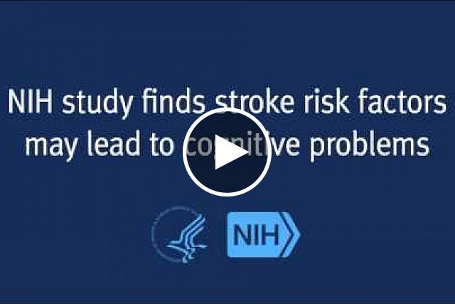 High blood pressure and other known risk factors for stroke also increase the risk of developing cognitive problems, even among people who have never had a stroke.