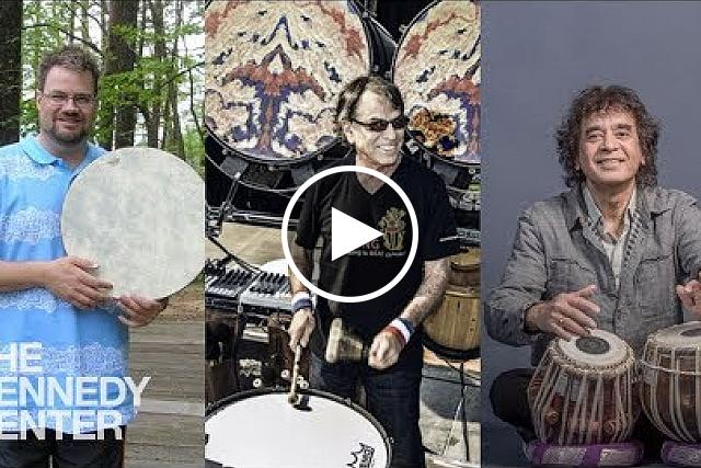 Sound Health: Music and the Mind with Mickey Hart - Millennium Stage.