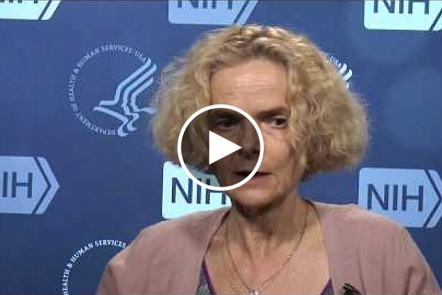 Dr. Nora Volkow, Director of the National Institute on Drug Abuse, talks about the importance of the NIH opioids crisis initiative. If you would like the files of the video clips, please contact Wally Akinso, email: akinsow@od.nih.gov.