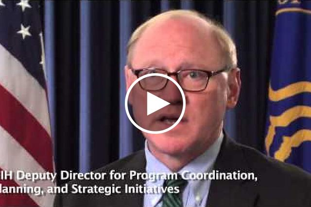NIH Deputy Director for Program Coordination, Planning, and Strategic Initiatives James M. Anderson, M.D., Ph.D.