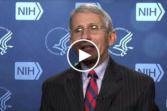 Dr. Anthony Fauci, Director of the National Institute of Allergy and Infectious Diseases, talks about Zika travel related cases. If you would like the files of the video clips, please contact Wally Akinso, email: akinsow@od.nih.gov.
