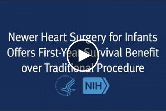 Infants born with a severely underdeveloped heart who undergo a newer surgical procedure are more likely to survive their first year and not require a heart transplant than those who have a more traditional surgical procedure, according to a report by researchers supported by the National Heart, Lung, and Blood Institute (NHLBI). The study is the largest comparative effectiveness study for congenital heart disease and the first North American multi-center randomized trial of congenital heart disease.
