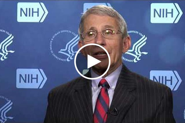 Dr. Anthony Fauci, Director of the National Institute of Allergy and Infectious Diseases, talks about NIH Zika research. If you would like the files of the video clips, please contact Wally Akinso, email: akinsow@od.nih.gov.