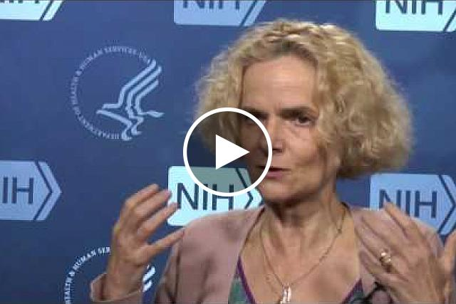 Dr. Nora Volkow, Director of the National Institute on Drug Abuse, examines the addictive nature of opioids. If you would like the files of the video clips, please contact Wally Akinso, email: akinsow@od.nih.gov.