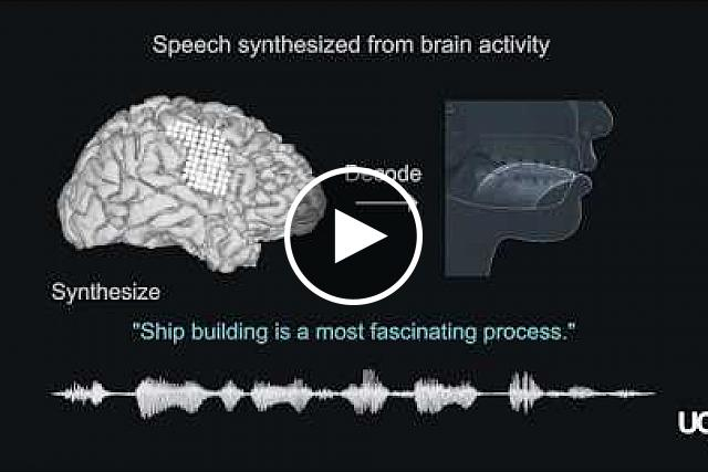 Speech synthesis from neural decoding of spoken sentences. UCSF