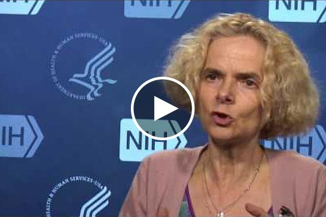 Dr. Nora Volkow, Director of the National Institute on Drug Abuse, talks about the importance of research as a solution to the opioid crisis. If you would like the files of the video clips, please contact Wally Akinso, email: akinsow@od.nih.gov.