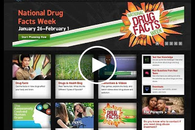 Dr. Nora Volkow describes National Drug Facts Week