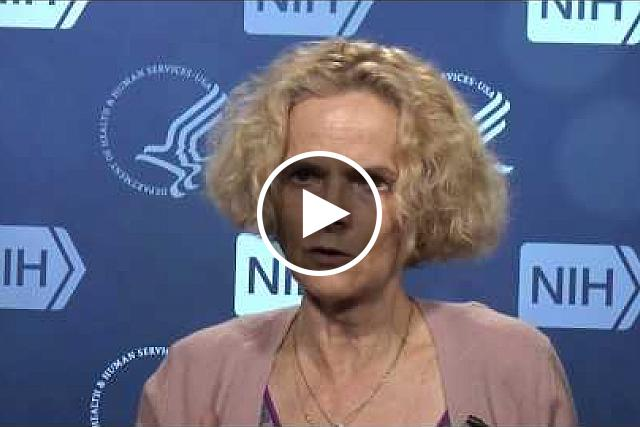 Dr. Nora Volkow, Director of the National Institute on Drug Abuse, talks about how science and research may foster a solution to the opioid crisis. If you would like the files of the video clips, please contact Wally Akinso, email: akinsow@od.nih.gov.