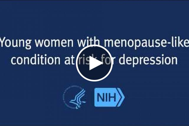 Young women with the menopause-like condition, primary ovarian insufficiency, are much more likely than other women to experience depression at some point during their lives, according to a study from the National Institutes of Health. The finding suggests that all women diagnosed with the condition should be evaluated for depression.