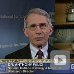 video screenshot of Dr. Tony Fauci.