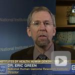 video screenshot of Dr. Eric Green.