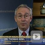 video screenshot of Dr. Thomas Insel.