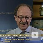 video screenshot of Dr. Harold Varmus.