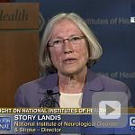video screenshot of Dr. Story Landis.