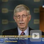 video screenshot of Dr. Francis Collins.