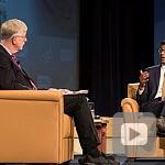 Dr. Collins and Dr. Atul Gawande chat about bringing precision delivery to precision medicine