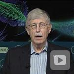 Dr. Francis Collins chats with Astronaut Kate Rubins on the International Space Station